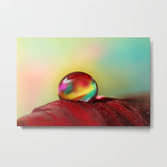 Tropical Drop Metal Print