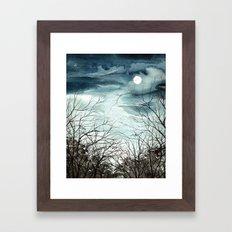 Enchanted Moon Framed Art Print