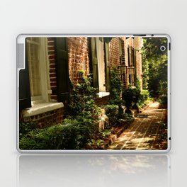Beautiful Charleston Alley Laptop & iPad Skin