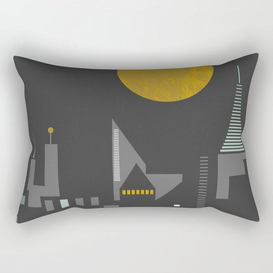 City scape Rectangular Pillow