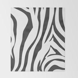 Zebra Stripe Design Pattern  Throw Blanket