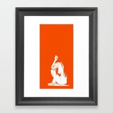 1Girl.1 Framed Art Print
