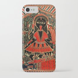Hindu Kali 16 iPhone Case
