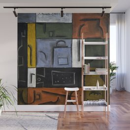 Joaquin Torres Garcia Constructive Painting VII Wall Mural