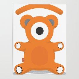 tedd.eye bear Poster