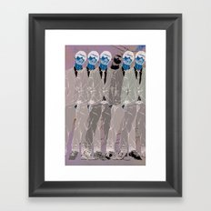Fuzzy Ficture Framed Art Print