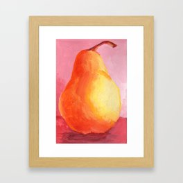 Junk Drawer Collection :: Pear Framed Art Print