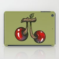 pie iPad Cases featuring Cherry Pie by Carlos Rocafort