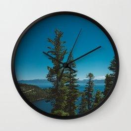 Lake Tahoe II Wall Clock