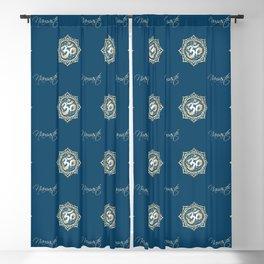 Namaste Lotus Flower of Life Mandala Blackout Curtain