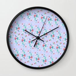 Nail & Hammer Mint Wall Clock