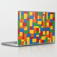 wwe Laptop & iPad Skins featuring Lego bricks by eARTh