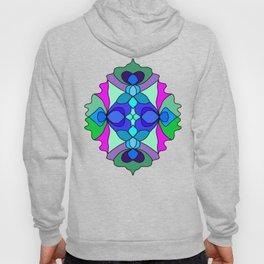Colorful Henna Mandala Hoody