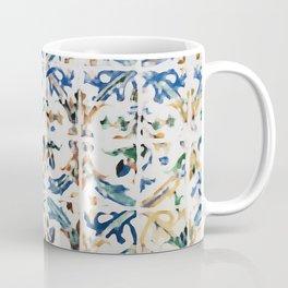 Blue Mosaic Painting Coffee Mug