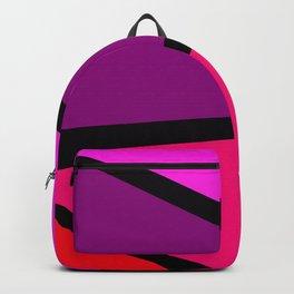 Red corner Backpack