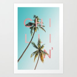 Chillin' Art Print