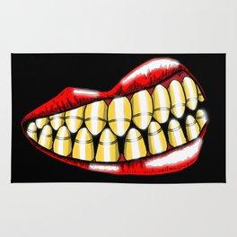 Bullet Teeth Rug