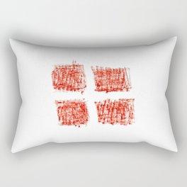flag Switzerland 4-,Swiss,Schweizer, Suisse,Helvetic,zurich,geneva,bern,godard,heidi Rectangular Pillow