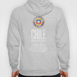 Chile World Cup 2014 Celebrative Artwork Hoody