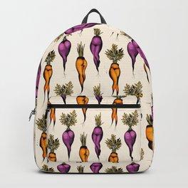 Sexy carrots botanical chart tattoo flash Backpack
