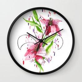 lilys Wall Clock