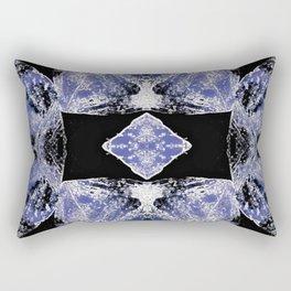 Indigo Mandala-Third Eye Chakra Rectangular Pillow