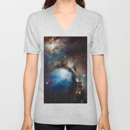 Reflection Nebula in Orion Unisex V-Neck