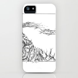 Mountain Happenings  iPhone Case