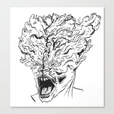 Portrait of a Clicker Canvas Print