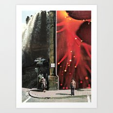 a day like any other Art Print
