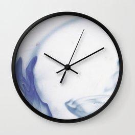 inkwater print 08: wave Wall Clock