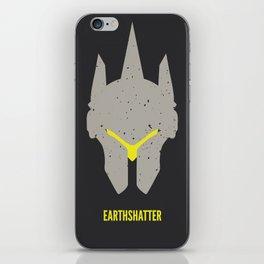 Earthshatter iPhone Skin