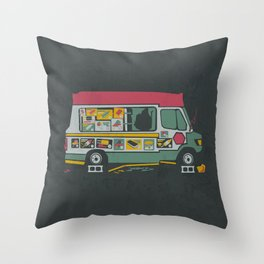 Disappointed Summer Throw Pillow