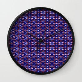 American ornaments Wall Clock