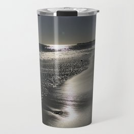Mailbu Beach Sunset Travel Mug