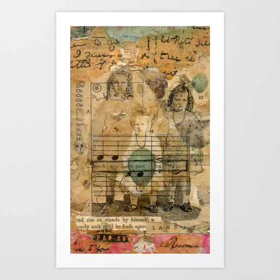 Secret Keepers of the Land Art Print