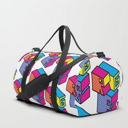 RGB (Convert to CMYK) Repeat Pattern Duffle Bag