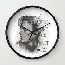 Bad Blood.... Bandaids don't fix bullet holes. Wall Clock