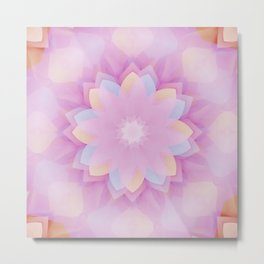 Lotus Mandala Dream Metal Print