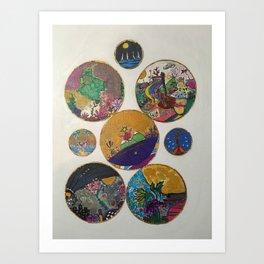 Canicas Art Print