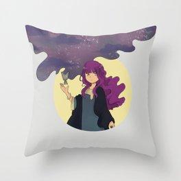 UAE x RPG - Sorceress Throw Pillow