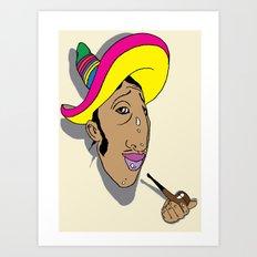 nice hat Art Print
