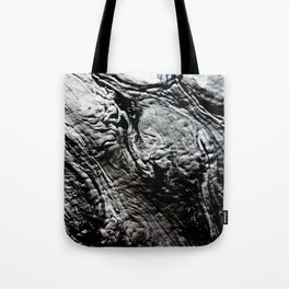 Black Lava Tote Bag