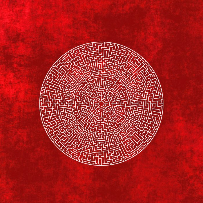 THE RED LABYRINTH Comforters