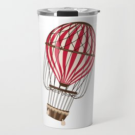 Retro Balloonist Ballooning Hot Air Balloon Pilot Gift Travel Mug