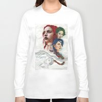 eternal sunshine Long Sleeve T-shirts featuring Eternal Sunshine by Laura O'Connor