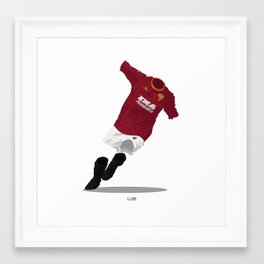 AS Roma 2000/01 Framed Art Print