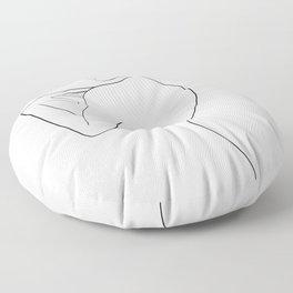 une ligne Floor Pillow