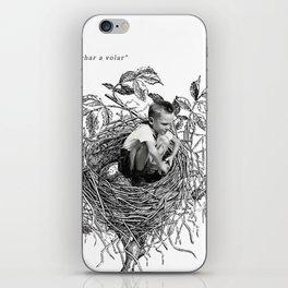 echar a volar iPhone Skin