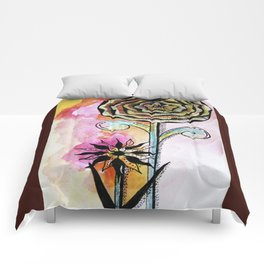 Floral Painting Comforters